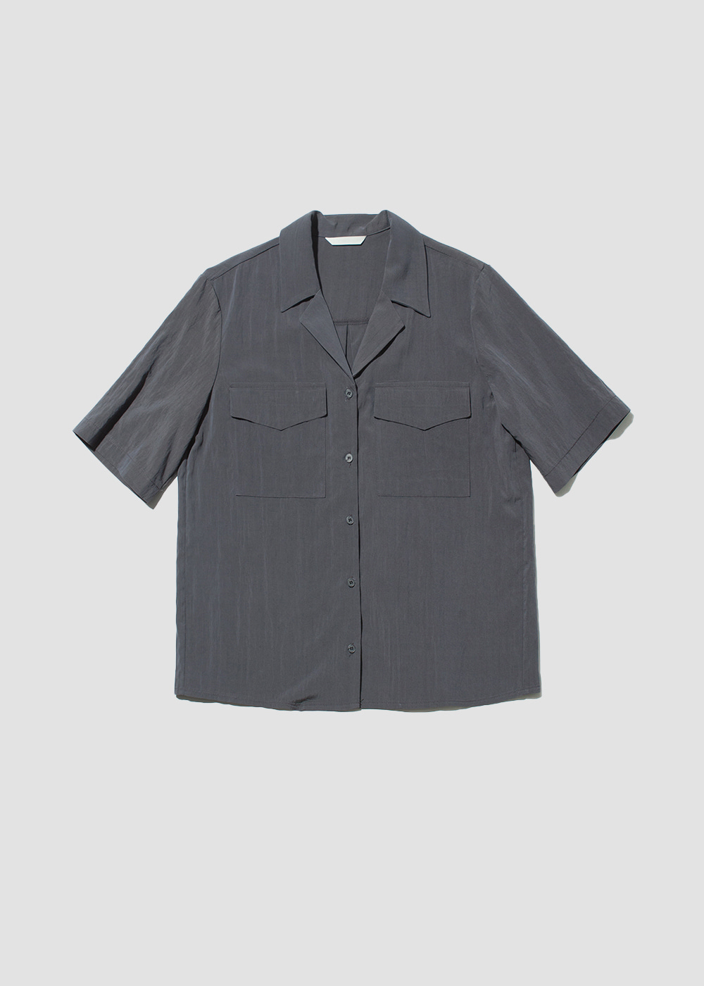 [MORE THAN PARADISE] Two-pocket shirt