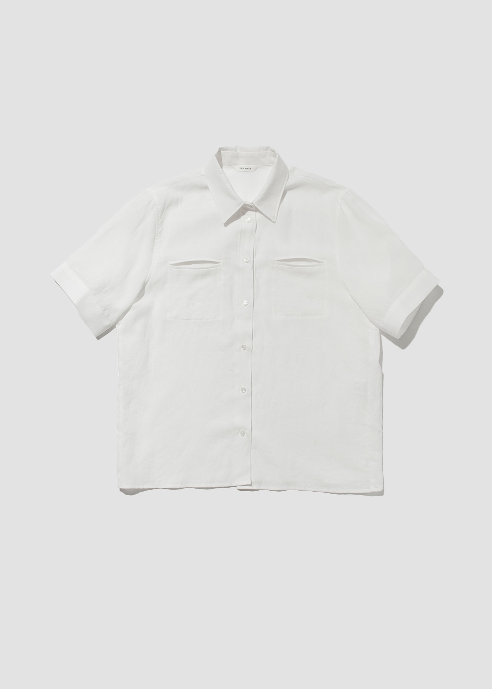[THE MATH] Air linen shirt